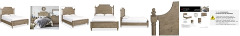 Furniture Closeout! Martha Stewart Collection Bergen Queen Bed, Created for Macy's