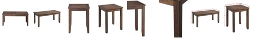 Picket House Furnishings Dex 3 Piece Table Occasional Set