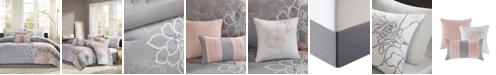 Madison Park Lola Cotton 7-Pc. Queen Comforter Set