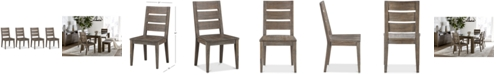 Furniture Sava Dining Furniture, 4-Pc. Set (4 Side Chairs), Created for Macy's