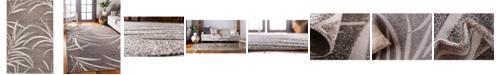 Bridgeport Home Pashio Pas4 Gray 5' x 8' Area Rug