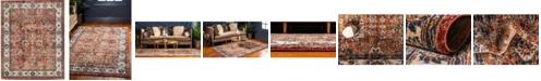 Bridgeport Home Shangri Shg2 Terracotta 8' x 10' Area Rug