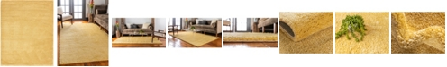 Bridgeport Home Uno Uno1 Yellow 10' x 13' Area Rug