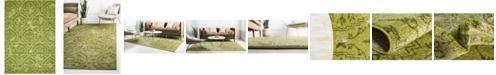 "Bridgeport Home Felipe Fel1 Green 8' x 11' 4"" Area Rug"