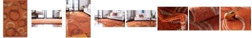 Bridgeport Home Jasia Jas05 Terracotta 2' x 3' Area Rug