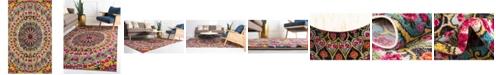 Bridgeport Home Brio Bri2 Multi 5' x 8' Area Rug