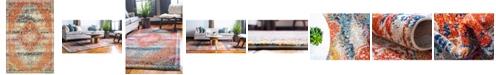 Bridgeport Home Brio Bri5 Multi 4' x 6' Area Rug