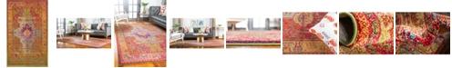 Bridgeport Home Brio Bri1 Multi 5' x 8' Area Rug