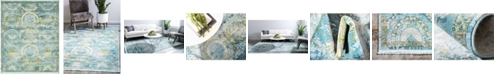 """Bridgeport Home Kenna Ken4 Light Blue 8' 4"""" x 10' Area Rug"""