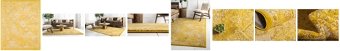 Bridgeport Home Lorem Lor2 Yellow 8' x 10' Area Rug