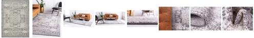 Bridgeport Home Mobley Mob2 Light Gray 9' x 12' Area Rug