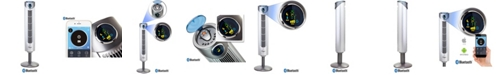 """Ozeri Ultra 42"""" Tower Fan with Bluetooth and Noise Reduction Technology"""