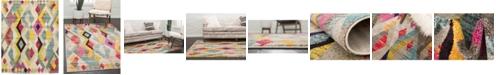 Bridgeport Home CLOSEOUT! Arcata Arc6 Multi 8' x 10' Area Rug