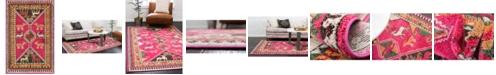 Bridgeport Home CLOSEOUT! Arcata Arc7 Pink 2' x 3' Area Rug