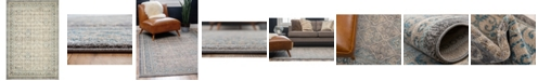 Bridgeport Home Bellmere Bel4 Gray 4' x 6' Area Rug
