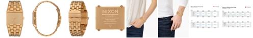 Nixon Ticket Stainless Steel Bracelet Watch 34mm