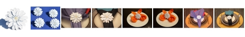 Vibhsa White Pearl Flower Napkin Ring