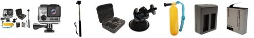 LINSAY Super Bundle True 4K Action Camera with Accessories