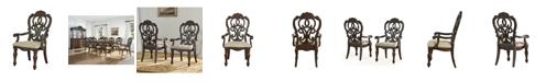 Furniture Reya Dining Arm Chair
