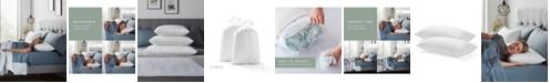 Lucid 2-pack Fiber and Shredded Foam Pillow with Zippered Inner Cover, King
