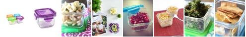 Wean Green Snack Cube 4 Pack - 7 Oz./210 ml Food Storage