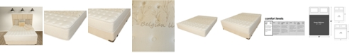 """Paramount Nature's Spa by Celestial 12"""" Extra Firm Mattress Set- Queen"""