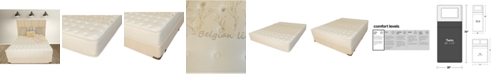 """Paramount Nature's Spa by Celestial 12"""" Extra Firm Mattress Set- Twin"""