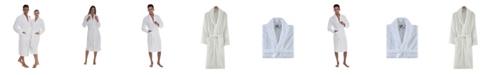 OZAN PREMIUM HOME Crown Unisex Turkish Cotton Bath Robe