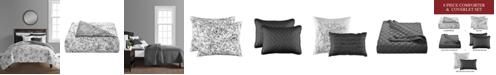 Sunham June 8-Pc. Queen Comforter and Quilt Set