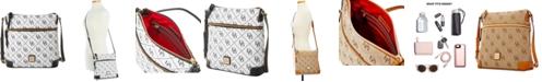 Dooney & Bourke Maxi Quilt Signature Crossbody, Created for Macy's