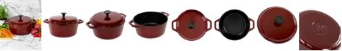 Hell's Kitchen 5-Qt. Cast Iron Dutch Oven