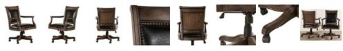 Hillsdale Freeport Wood Game Desk Chair