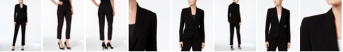 Anne Klein Executive Collection Single-Button Pantsuit, Created for Macy's