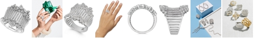 EFFY Collection EFFY® Diamond Wide Statement Ring (1 ct. t.w.) in 14k White Gold