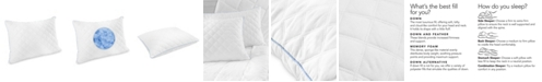 SensorGel Quilted Gel-Infused Memory Foam Cluster Pillow 4 Pack