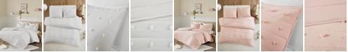 JLA Home Urban Habitat Brooklyn Full/Queen Cotton Jacquard 3 Piece Coverlet Set