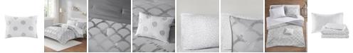 Intelligent Design Lorna Queen 8 Piece Comforter and Sheet Set
