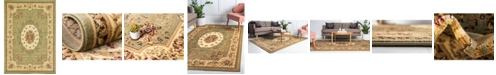 Bridgeport Home Belvoir Blv4 Green 7' x 10' Area Rug