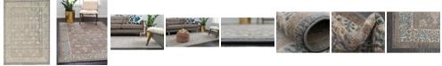 Bridgeport Home Bellmere Bel3 Gray 7' x 10' Area Rug
