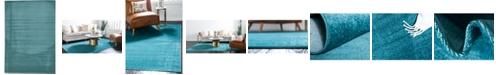 Bridgeport Home Axbridge Axb3 Teal 7' x 10' Area Rug
