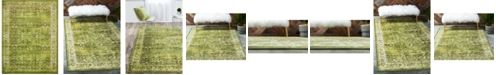 """Bridgeport Home Linport Lin1 Green 13' x 19' 8"""" Area Rug"""