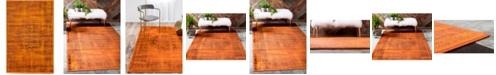 Bridgeport Home Linport Lin5 Terracotta 2' x 3' Area Rug