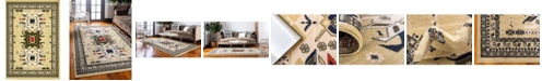 Bridgeport Home Charvi Chr1 Ivory 4' x 6' Area Rug