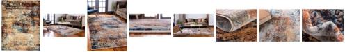 Bridgeport Home Marblesea Mrb4 Peach 9' x 12' Area Rug
