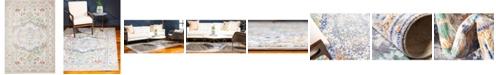 Bridgeport Home Malin Mal2 Light Gray 6' x 9' Area Rug