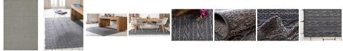Bridgeport Home Pashio Pas6 Gray 6' x 9' Area Rug