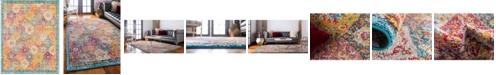 Bridgeport Home Lorem Lor2 Multi 8' x 10' Area Rug