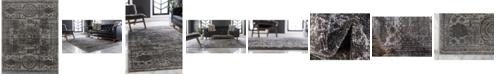 Bridgeport Home Mobley Mob2 Dark Gray 8' x 10' Area Rug