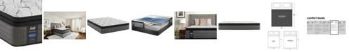 "Sealy Posturepedic Lawson LTD 13.5"" Plush Euro Pillow Top Mattress- King"