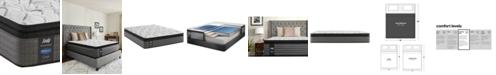 "Sealy Posturepedic Lawson LTD 13.5"" Cushion Firm Euro Pillow Top Mattress- King"
